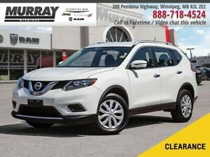 2016 Nissan Rogue S *AWD Htd Mirrors Bluetooth*