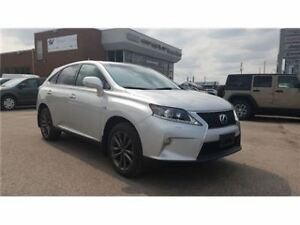 2013 Lexus RX 350 F Sport NAV, Leather, Sunroof, Only 17, 000 !!