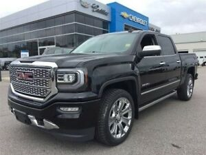 2018 GMC Sierra 1500 Denali   Navi   Bluetooth   Sunroof   Rear