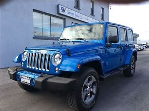 2016 Jeep Wrangler Unlimited Sahara Navigation, Only 10, 000 KMS
