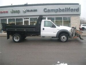 2005 Ford F-550 Chassis CAB 4X4 6.0L Diesel 5 SPD Manual 9 Artic
