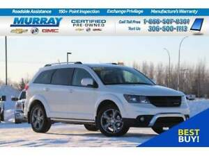 2017 Dodge Journey Crossroad AWD*DVD,REAR CAMERA,PARKING SONAR*