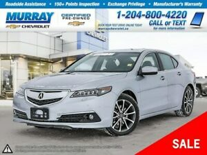 2017 Acura TLX Base w/Elite Package *Heated Seats, Wi-Fi Hotspot