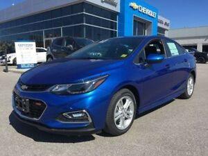 2018 Chevrolet Cruze LT   RS   Bluetooth   USB Inputs