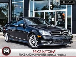 2014 Mercedes-Benz C300 Leather roof sport