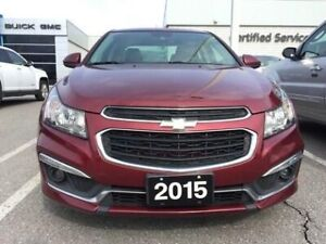 2015 Chevrolet Cruze LT   Bluetooth   Sunroof   RS Package