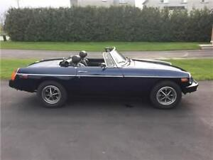 1976 MGB Blue Certified