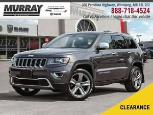 2015 Jeep Grand Cherokee Limited *Pwr Sunroof Leather Bkp Cam*