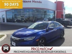 2016 Honda Civic TOURING,NAVIGATION,LEATHER ,HEATED SEATS WELL L
