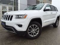 2014 Jeep GR Cherokee LTD 3.6L/LEATHER/8.4SCREEN/SUNROOF/8SPD AU