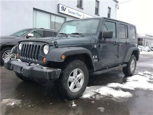 2007 Jeep Wrangler Unlimited X Only 68, 000 KMS !!!