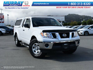 2012 Nissan Frontier S EXT CAB *CANOPY, NAVIGATION, BACK UP CAMERA*