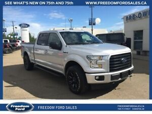 2017 Ford F-150 Crew Cab, 4X4, V6, Speed Sensing Steering