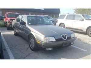 1991 Alfa Romeo 164 L Leather, 5 Speed, AS IS !!!