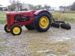 Two Massey Harris 44 Tractors all for $1400.00