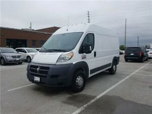 2014 Ram Promaster 2500 High Roof Diesel, Rear Camera, Ucconect
