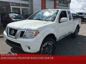 2016 NISSAN FRONTIER 4WD KING CAB PRO-4X KING CAB****LE SEUL 201