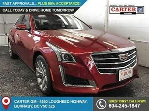 2018 Cadillac CTS 3.6L Luxury AWD - Power Moonroof - Genuine...