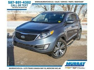 2016 Kia Sportage EX AWD *Leather *Heated & Cooled Seats