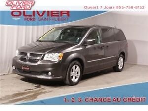 2016 Dodge Grand Caravan Crew STOW & GO CUIR CAMERA  BLUETHOOT M