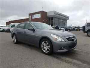 2013 INFINITI G37X Luxury Leather, Sunroof, ALL Wheel Drive !!