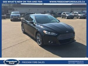 2016 Ford Fusion Titanium, AWD, Bluetooth, Backup Cam, Leather I
