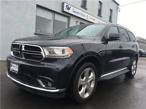 2015 Dodge Durango Limited Navigation, Sunroof, Only 17, 000 KMS