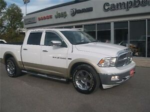 2011 Ram 1500 Laramie Sunroof Ventelated Seats Trailer Brake Belleville Belleville Area image 2