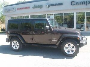 2013 Jeep Wrangler Unlimited Sahara 5 Speed Auto AIR Conditionin
