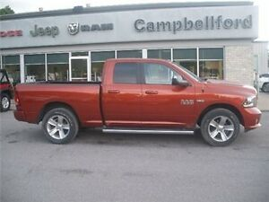 2013 Ram 1500 Sport AIR Suspension Navigation 4X4 8.4 Radio Belleville Belleville Area image 1