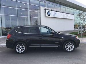 2013 BMW X3 ROOF LEATHER AWD