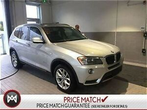 2013 BMW X3 NAV, SUNROOF, TECH