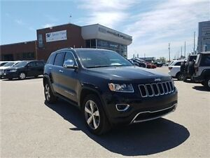 2016 Jeep Grand Cherokee Limited  8.4 Inch Screen, Sunroof, Leat