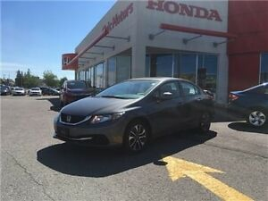 2013 Honda Civic Sdn EX - 6YR/160,000 KMS HONDA WARRANTY, SUNROO