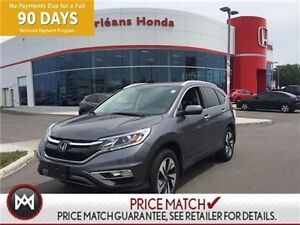 2015 Honda CR-V TOURING,NAVIGATION,SUNROOF, LEASE RETURN AND CLE