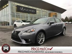 2014 Lexus IS 250 NAVI, SUNROOF LEATHER LOADED LUXURY PACKAGE