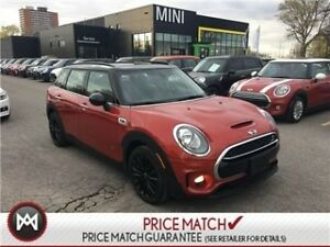 2017 MINI Cooper S Clubman AWD NAVIGATION BLAZING RED COOPER S C