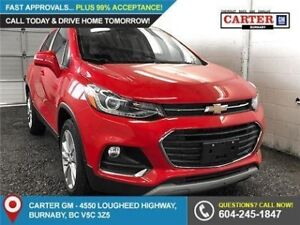 2018 Chevrolet Trax Premier AWD - Power Moonroof - Bluetooth...