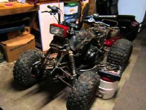 Interested in any unwanted or broken down dirtbikes or atvs
