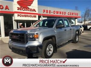 2015 GMC Sierra 1500 4X4! DOUBLE CAB! TONNEAU COVER! LOW KM'S! S