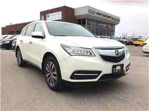 2015 Acura MDX Navigation Package Rear CAM Sunroof