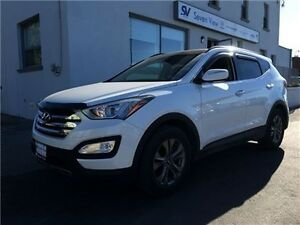 2015 Hyundai Santa Fe Sport 2.4 Luxury Leather, Panoramic Sunroo