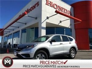 2016 Honda CR-V LX - AWD CRUISE CONTROL, BLUETOOTH
