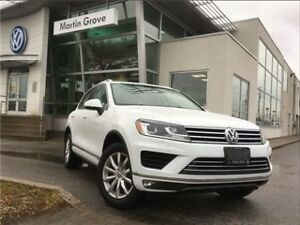 2016 Volkswagen Touareg SPORTLINE OUTDOORS PKG, LEATHER, NAVIGAT