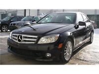 2010 Mercedes 4matic C250 low kms!!