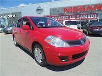 2011 Nissan Versa 1.8S, CERTIFIÉ, BAS KM, 1 SEUL