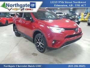 2017 Toyota RAV4 SE, AWD, Leather, Sunroof, Bluetooth