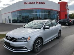 2015 Volkswagen Jetta Sedan COMFORTLINE, SUNROOF, HEATED SEATS,