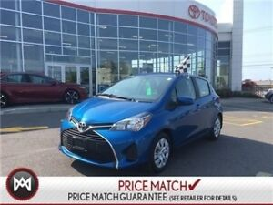 2017 Toyota Yaris LE: KEYLESS, CRUISE, BLUETOOTH Special Fleet O