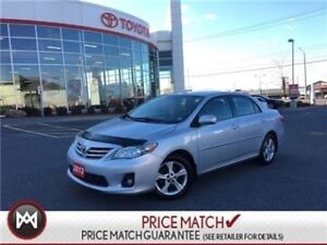 2013 Toyota Corolla LE: BLUETOOTH, USB, HEATED SEATS Featuring a
